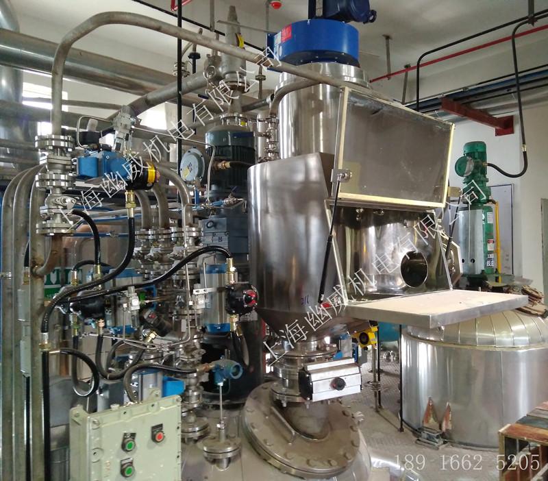 无尘投料站在染料行业给反应釜加料